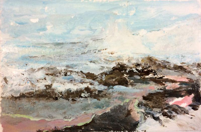 Winterlandschap, 2016, 10 x 15