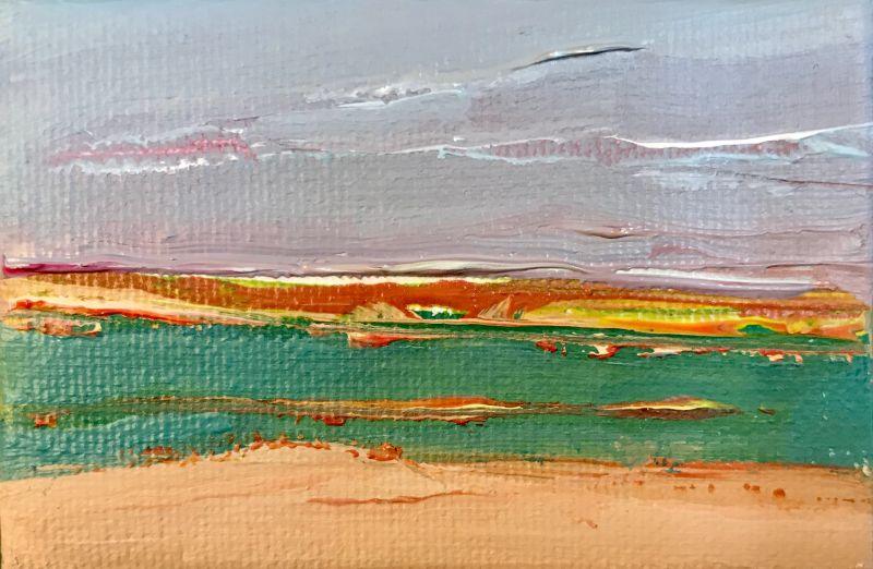 schilderijtje voor Pakje Kunst