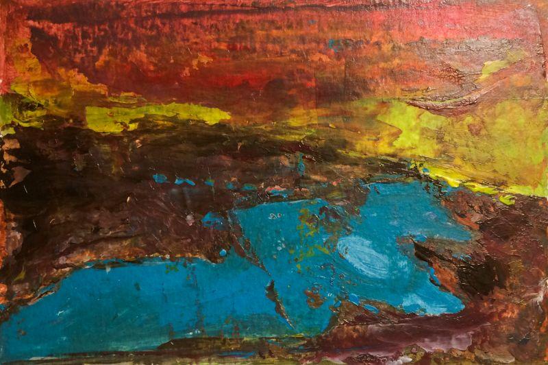 Landschap 2017, 10 x15