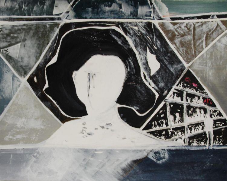 Ter nagedachtenis aan Anne Frank, 2014, 40x50 op papier