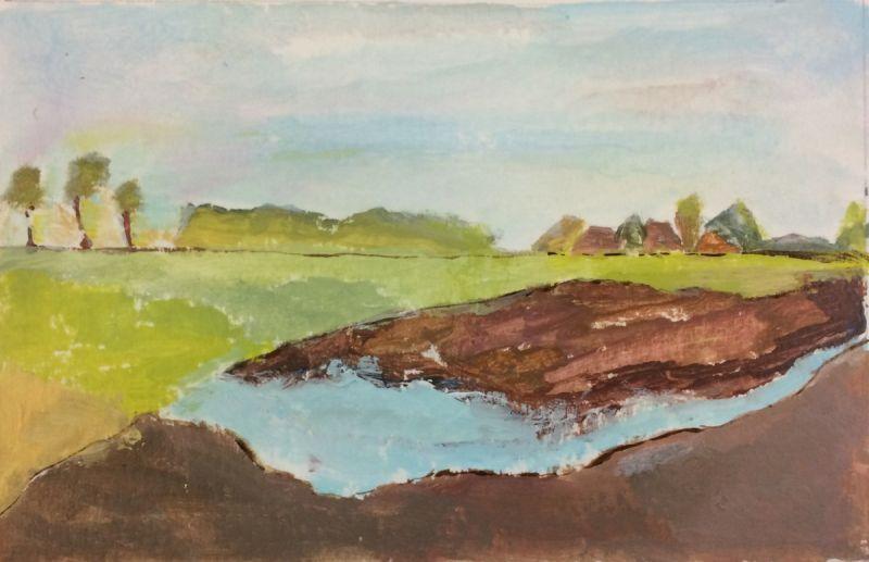 Landschap 2017, 10 x 15