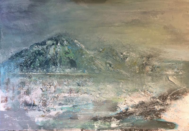 Landschap, 2015, 40 x 50