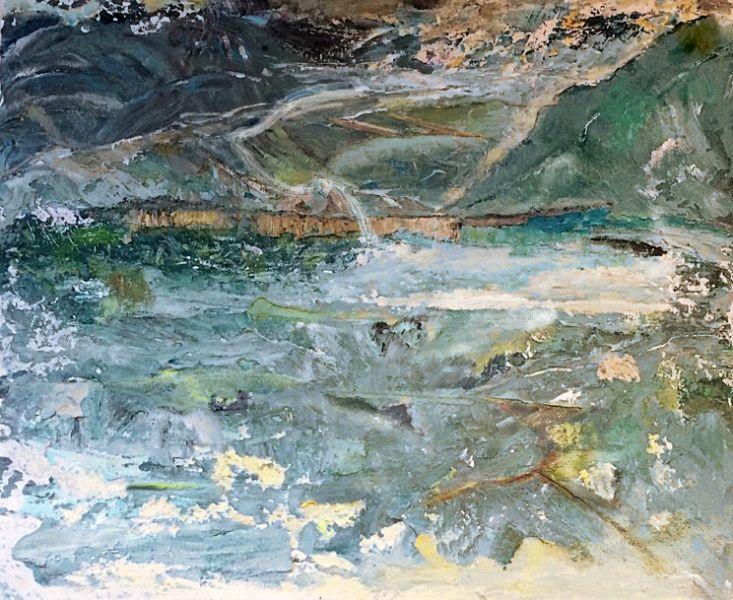 Landschap, 2016, 40 x 50