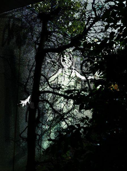 Spookie, geschilderd in foto, 2013