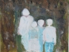 De verloren familie, 2014, 40x50, op papier