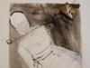 Vrouw en kind, 2014, 40x50, op papier